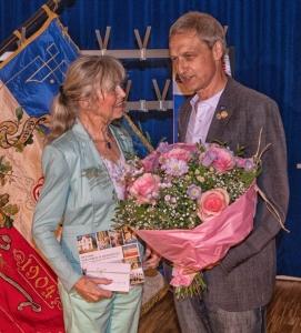 Frau Höhn wurde nach ihrer langjährigen Tätigkeit im Bereich des Kinderturnens verabschiedet. Noch mal vielen Dank !